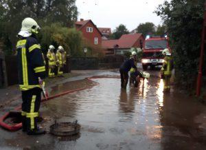 Überflutete Straße 2